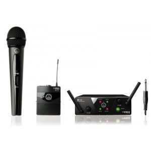 AKG WMS40 Mini Dual Vocal Instrument Set UHF-Drahtlossystem