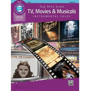ANCORA Top Hits From TV, Movies & Musicals Altsax Buch mit MP3-CD