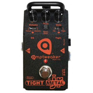 AMPTWEAKER Bass TightMetal JR Metal Distortion Effektpedal
