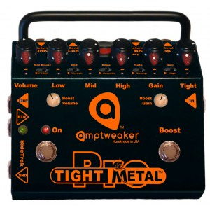 AMPTWEAKER TightMetal Pro Metal Distortion/Boost Effektpedal