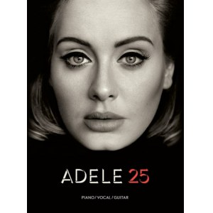 ANCORA Adele 25 Piano/Vocal/Guitar Songbook