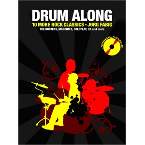 ANCORA Drum Along Vol. 2 10 Classic Rock Songs