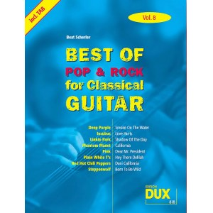 ANCORA Best Of Pop & Rock for Classical Guitar 8 Die umfassende Sammlung mit starken Interpreten