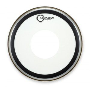 AQUARIAN HE-14 Hi-Energy clear 14 Zoll Schlagfell, Snare, Power Dot Center Coating