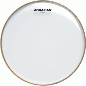 AQUARIAN S-2-12 Super-2 clear glatt 12 Zoll Schlagfell, Tom