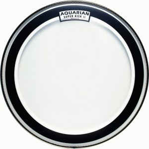AQUARIAN SKII-22 Super Kick II clear 22 Zoll Schlagfell, Bass Drum, Floating Muffle Ring