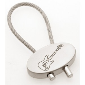 ART OF MUSIC Key Holder Electric Guitar Schlüsselring