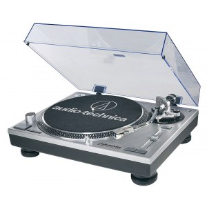 AUDIO-TECHNICA AT-LP120 USB HC Plattenspieler mit USB-Audio-Interface und System