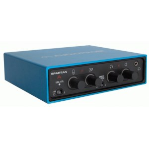 AUDIOPROBE Spartan A SB USB Audio/MIDI-Interface, skyblue