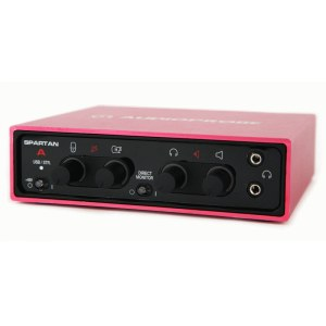 AUDIOPROBE Spartan A RD USB Audio/MIDI-Interface, red