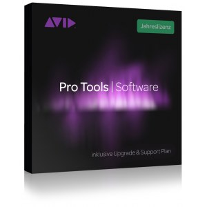 AVID Pro Tools Jahreslizenz mit Upgr./Supportplan Activation Card für Pro Tools