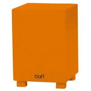 BAFF Kids Musikhocker 38 OR Musikmöbel/Cajon inkl. Lern-CD, orange (204)