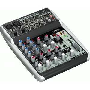 BEHRINGER Xenyx Q-1002 USB Kompaktmischpult mit USB Audio-Interface
