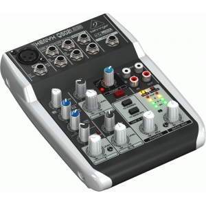 BEHRINGER Xenyx Q-502 USB Kompaktmischpult mit USB Audio-Interface
