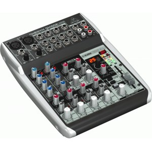 BEHRINGER Xenyx QX-1002 USB Kompaktmischpult mit USB Audio-Interface