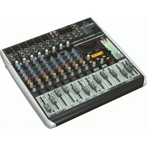 BEHRINGER Xenyx QX-1222 USB Kompaktmischpult mit USB Audio-Interface