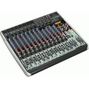 BEHRINGER Xenyx QX-2222 USB Kompaktmischpult mit USB Audio-Interface