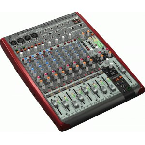 BEHRINGER Xenyx UFX-1204 Kompaktmischpult mit USB Audio-Interface