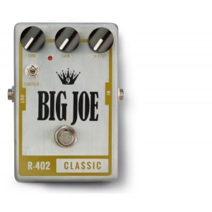 BIG JOE R-402 Classic Tube Overdrive Effektgerät