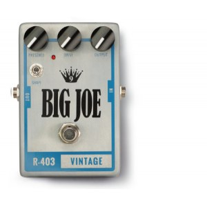 BIG JOE R-403 Vintage Tube Overdrive Effektgerät