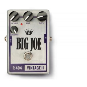 BIG JOE R-404 Vintage Tube 2 Overdrive Effektgerät