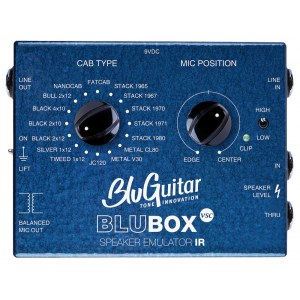 BLUGUITAR BluBOX Virtual Speaker Collection Lautsprechersimulator