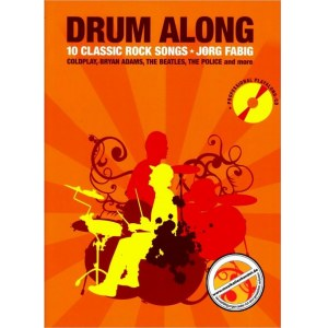 ANCORA Drum Along Vol. 1 10 Classic Rock Songs