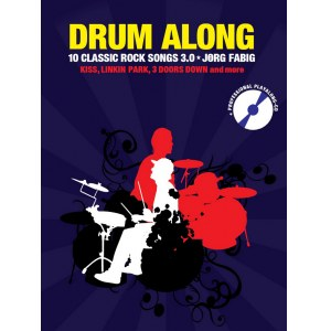 ANCORA Drum Along Vol. 9 10 Classic Rock Songs 3.0