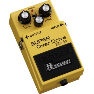 BOSS SD-1W Super Overdrive Waza Craft Effektgerät