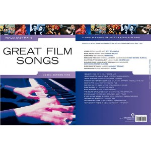 BOSWORTH Really Easy Piano Great Film Songs Einfache Arrangements für Klavier