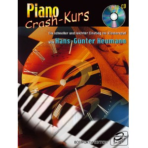 BOSWORTH Piano Crash-Kurs /CD Einstieg ins Klavierspiel, Hans-Gunter Heumann