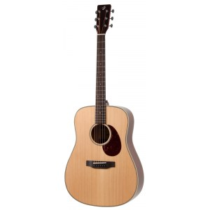BREEDLOVE DCMWNe Passport Plus Dreadnought / DE Elektro-Akustik-Gitarre inkl. Softcase, sunburst