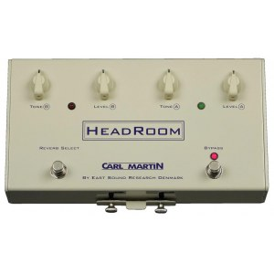 CARL MARTIN Headroom Reverb Effektpedal