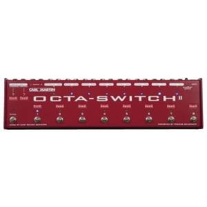 CARL MARTIN OctaSwitch MK2 8-fach Looper/Switcher