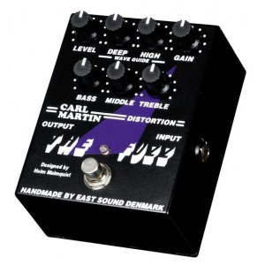 CARL MARTIN The Fuzz Effektpedal