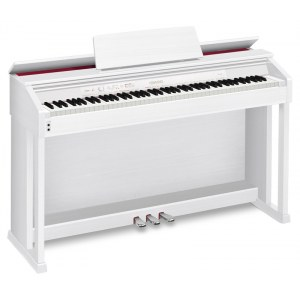 CASIO AP-460 WE Celviano AiR / B-Ware Digitalpiano plus HMX-05 WH Kopfhörer, weiss