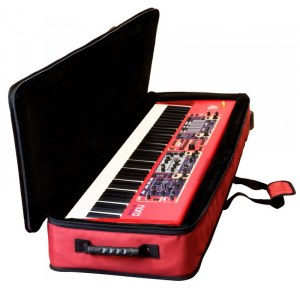 CLAVIA Nord Softcase Stage 2 HA76 Keyboardtasche, rot