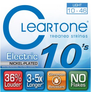 CLEARTONE 9410 Electric EMP Light 010-046 Nickel-Plated Steel. Saiten für E-Gitarre