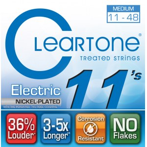 CLEARTONE 9411 Electric EMP Medium 011-048 Nickel-Plated Steel. Saiten für E-Gitarre