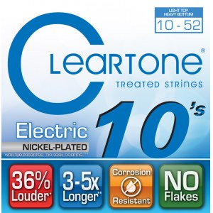 CLEARTONE 9420 Electric EMP Light Heavy 010-052 Nickel-Plated Steel. Saiten für E-Gitarre