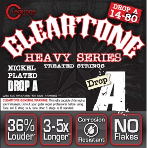 CLEARTONE 9480 Electric EMP Heavy DropA 014-080 Nickel-Plated Steel. Saiten für E-Gitarre
