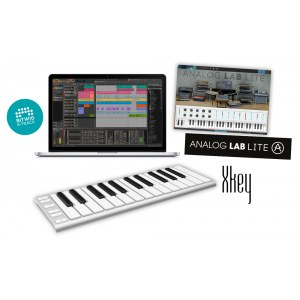 CME Xkey 25 Production-Bundle MIDI-Key + Bitwig 8-Track und Arturia Audio Labs
