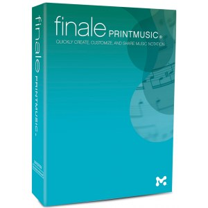 FINALE PrintMusic 2014 Notationsprogramm