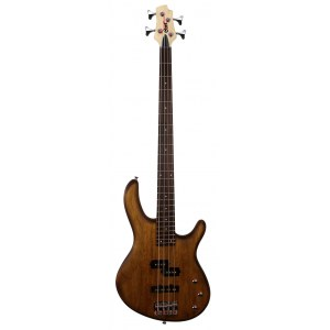CORT Action 4 PJ W2 4-saitiger E-Bass, walnut satin