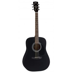 CORT AD810BS Dreadnought Akustik-Gitarre, black satin