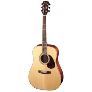 CORT Earth 100 NAT Dreadnought Akustik-Gitarre, natur hochglanz