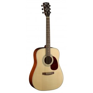 CORT Earth 70 NAT Dreadnought Akustik-Gitarre, natur