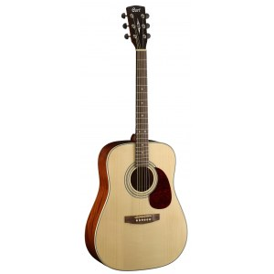 CORT Earth 70 OP Dreadnought Akustik-Gitarre, open pore