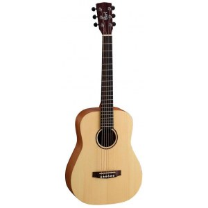 CORT Earth Mini OPG2 Travel Akustik-Gitarre inkl. Gigbag, open pure natural