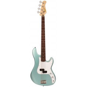 CORT GB54 PSPG2 P-Style 4-Saiter E-Bass, sea foam pearl green